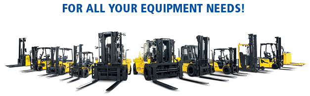 FOR ALL YOUR EQUIPMENT NEEDS!
